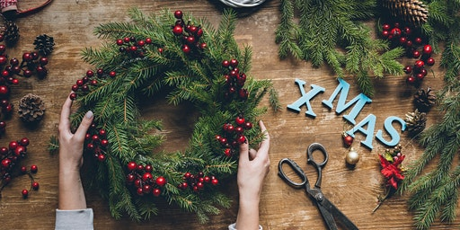 Livingston Designer Outlet – Christmas wreath workshop