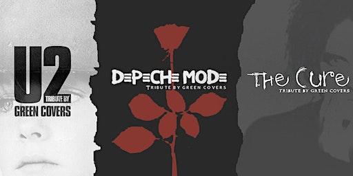 U2, Depeche Mode & The Cure by Green Covers en León