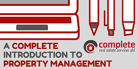 A Complete Introduction to Property Management tickets
