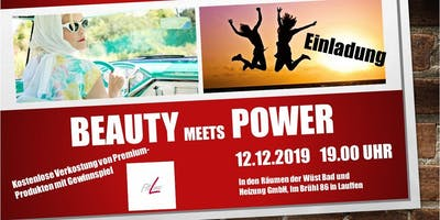 Beauty meets Power mit Fitline!
