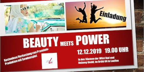 Beauty meets Power mit Fitline! Tickets