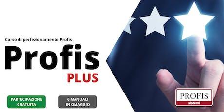 PROFIS Plus: corso di perfezionamento su Profis biglietti