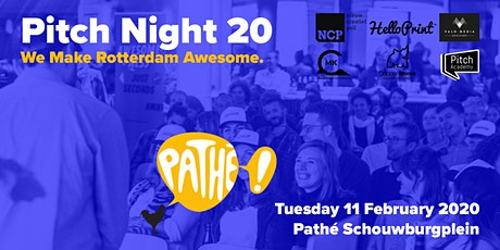 Awesome Foundation Rotterdam PITCH NIGHT 20 tickets
