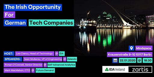 The Irish Opportunity for German Tech Companies