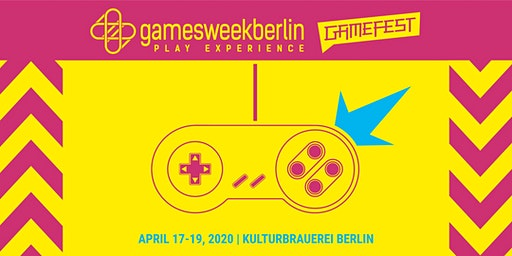 Gamefest 2020 (gamesweekberlin PLAY X)