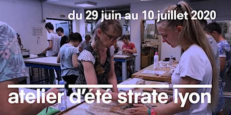 L'ATELIER D'ÉTÉ À STRATE ECOLE DE DESIGN LYON - 2 SEMAINES DÉBUT JUILLET 2020 billets