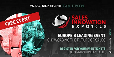 Sales Innovation Expo tickets