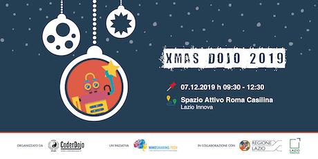 #XmasDojo 2019@CoderDojo Roma SPQR biglietti