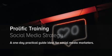 Social Media Strategy Training tickets