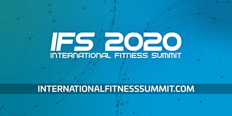 International Fitness Summit 2020 - Lisbon bilhetes
