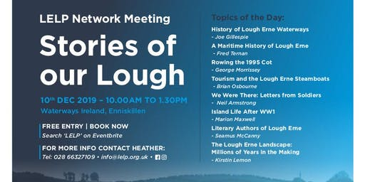 Lough Erne Landscape Partnership Network meeting