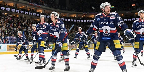 Eisbären Berlin versus Krefeld Pinguine  live in der Factory Suite tickets