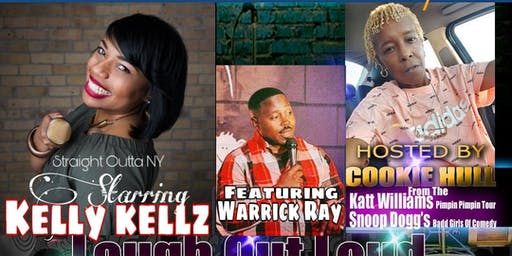 "THE PRIVATE I JOKERS COMEDY PRESENTS: ""KELLY KELLZ"" STRAIGHT OUTTA NY"