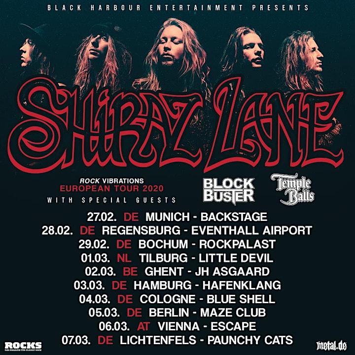 Afbeelding van Shiraz Lane Tour 2020 l Ghent, JH Asgaard