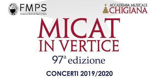 Micat in Vertice -   Talenti Chigiani -  Integrale quartetti di Beethoven