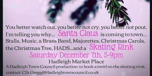 Hadleigh Town Council Christmas Tree Lighting Event