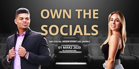 Own The Socials | DAS SOCIAL MEDIA EVENT DES JAHRES 2020! Tickets