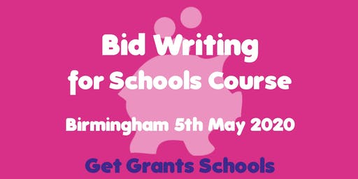 Bid Writing for Schools Course