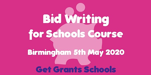 Bid Writing for Schools Course