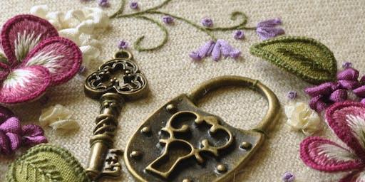 Secret Garden Embroidery workshop (stump work)