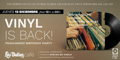 Ibiza Vinyl Club presents VINYL IS BACK (vol.2)