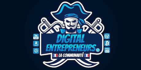 Meetup Digital Entrepreneurs #44 billets