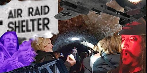 Flecky Bennett's Stockport Air Raid Shelter Experience
