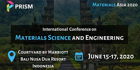 International Conference on Materials Science and Engineering tickets