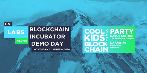 CV Labs Incubation - DEMO DAY + Cool Kids On The Blockchain Party