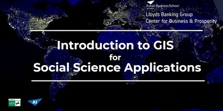 Introduction to GIS for Social Science Applications tickets