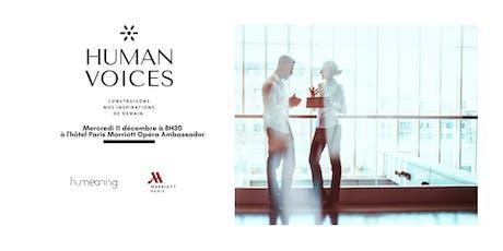 HUMAN VOICES billets