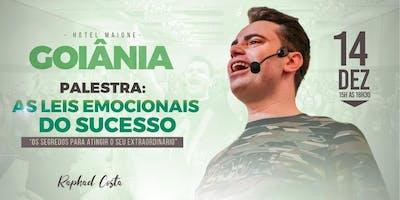 Goiânia-Palestra: As Leis Emocionais do Sucesso com Raphael Costa