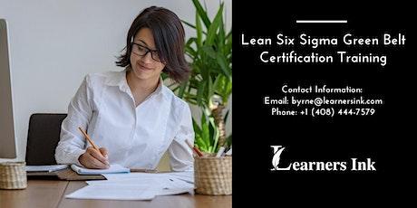 Lean Six Sigma Green Belt Certification Training Course (LSSGB) in Greenville tickets