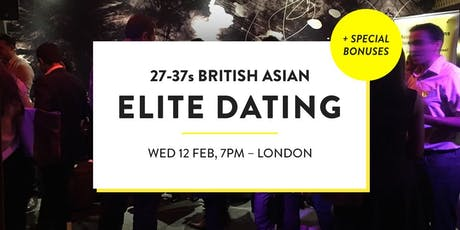 Elite British Asian Meet and Mingle, Elite Social - 27-37s | London tickets