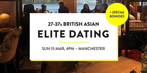 Elite British Asian Meet and Mingle, Elite Social - 27-37s | Manchester