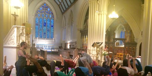 Yoga at St Stephen's: 4 year anniversary session