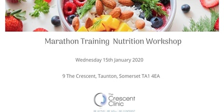 Marathon Training Nutrition Workshop tickets