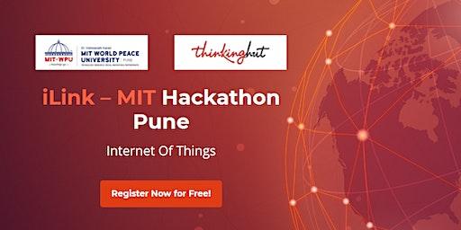 iLink – MIT Hackathon Pune, Internet Of Things (IoT)