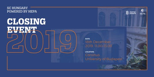SC Hungary powered by HEPA - Closing Event 2019