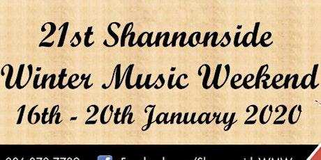 Shannonside Winter Music Weekend Ticket tickets