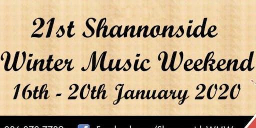Shannonside Winter Music Weekend Ticket