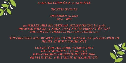 Open house raffle