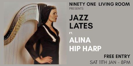 Jazz Lates: Alina Hip Harp tickets