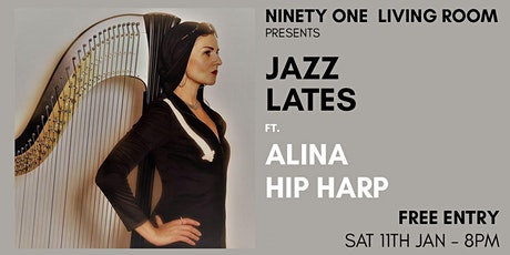 Jazz Lates: Alina Hip Harp tickets