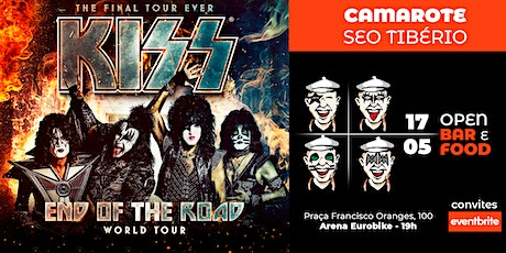 "KISS ""End of the Road Tour"" - Camarote Seo Tibério tickets"