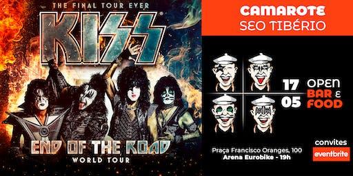 "KISS ""End of the Road Tour"" - Camarote Seo Tibério"