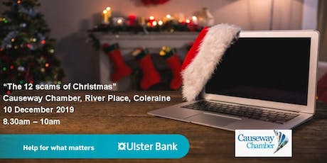 Ulster Bank presents......The 12 scams of Christmas tickets