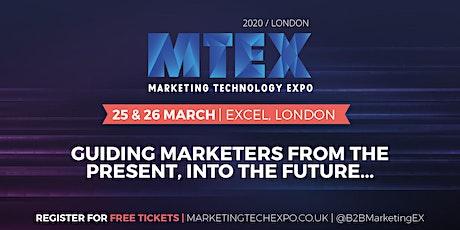 Marketing Technology Expo tickets