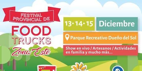 Festival de Food Trucks Amegam (7° Ed. ZONA ESTE) entradas