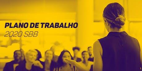 Plano de Trabalho 2020 da SBB, em Recife (PE) ingressos